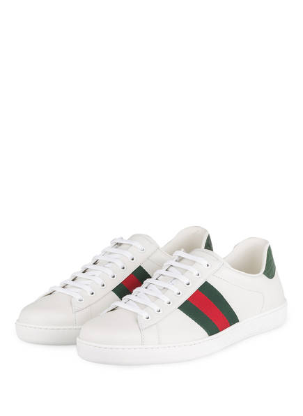 GUCCI Sneaker NEW ACE, Farbe: WEISS (Bild 1)