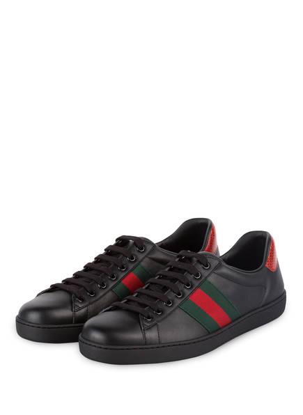 GUCCI Sneaker NEW ACE, Farbe: BLACK (Bild 1)