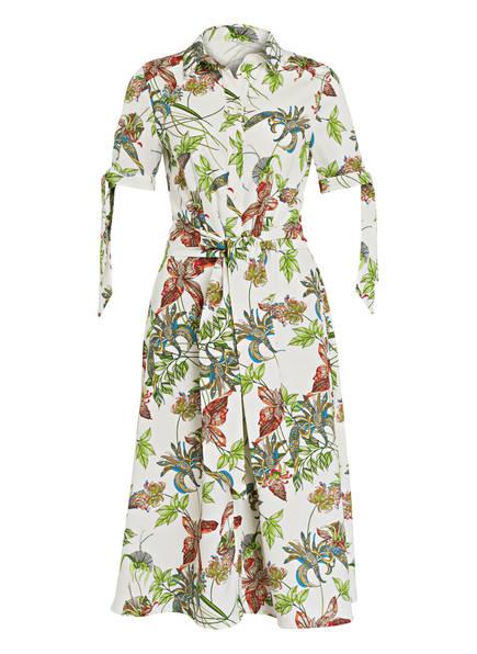NVSCO Kleid YVETTE, Farbe: WEISS/ HELLGRÜN/ ORANGE (Bild 1)