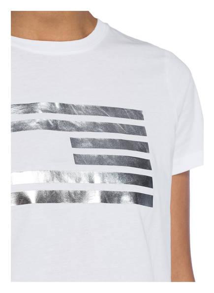 Weiss shirt Hilfiger Icon Tess Tommy T nSRqAX6