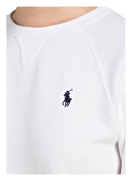 Polo Sweatshirt Lauren Polo Weiss Lauren Polo Ralph Weiss Ralph Sweatshirt dqEOd