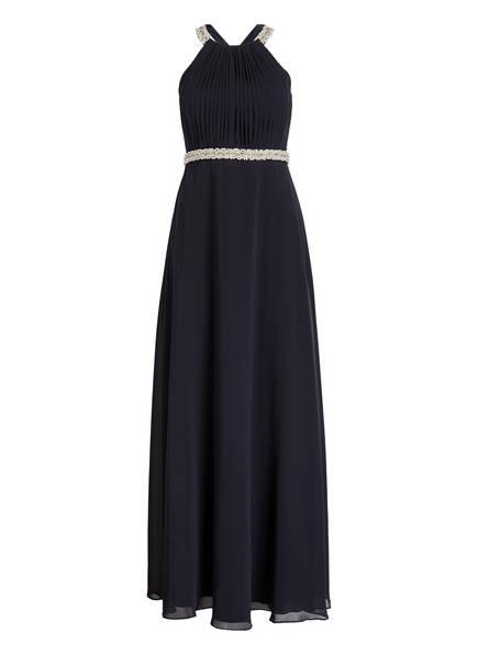 VM VERA MONT Abendkleid mit Perlenbesatz, Farbe: DUNKELBLAU (Bild 1)