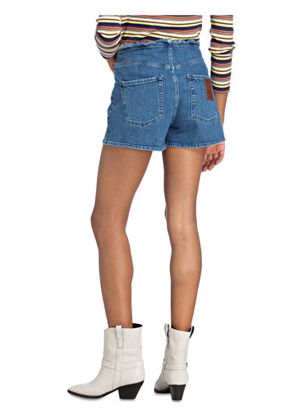 Jeans All shorts Mankind For Stonewash 7 Blue Mid ptwfgBCx