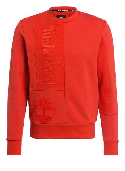 Timberland Sweatshirt CREW T2 MOLTEN LAVA, Farbe: ROT (Bild 1)