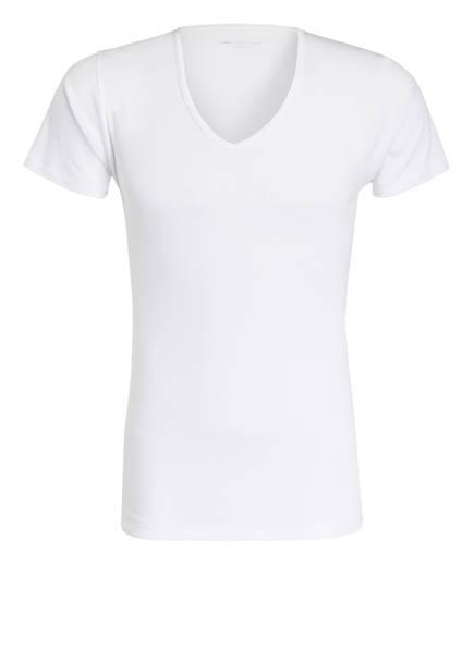 mey V-Shirt Serie CASUAL COTTON, Farbe: WEISS (Bild 1)