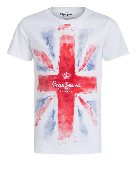 Pepe Jeans T-Shirt, Farbe: WEISS/ ROT/ BLAU (Bild 1)