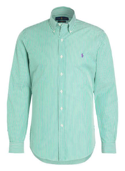 POLO RALPH LAUREN Hemd Slim Fit, Farbe: GRÜN/ WEISS GESTREIFT (Bild 1)