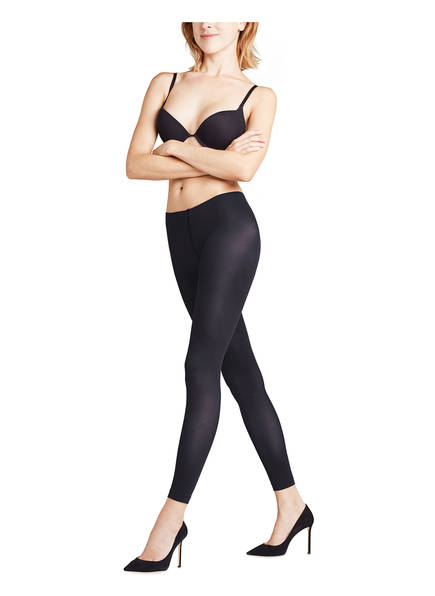 Leggings Black Pure Matt 50 3009 Falke Den ZaPdq7Pn