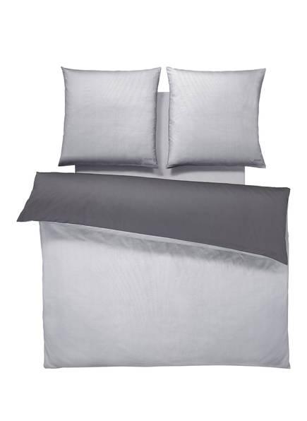 JOOP! Bettwäsche PATTERN zum Wenden , Farbe: HELLGRAU/ GRAU (Bild 1)