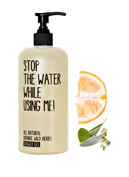 STOP THE WATER WHILE USING ME! ORANGE WILD HERBS (Bild 1)