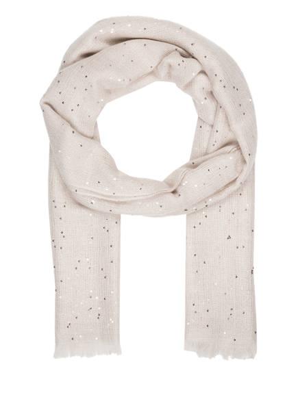 BRUNELLO CUCINELLI Cashmere-Schal mit Seidenanteil , Farbe: CREME (Bild 1)