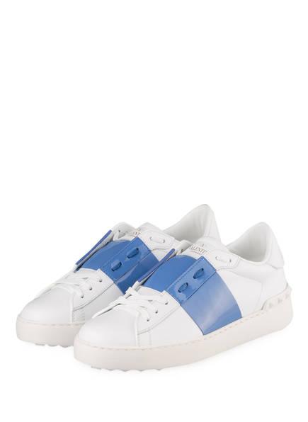 VALENTINO GARAVANI Sneaker OPEN, Farbe: WEISS/ HELLBLAU (Bild 1)