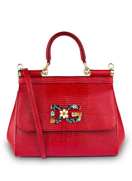 DOLCE&GABBANA Handtasche MISS SICILY MINI , Farbe: ROSSO (Bild 1)