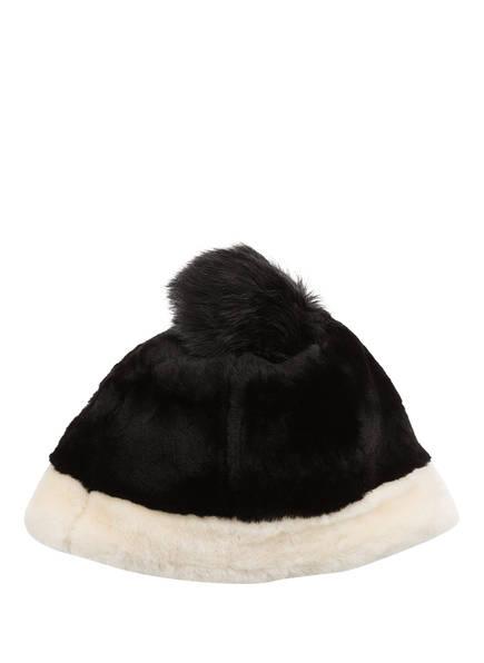 UGG Mütze SHEERLING aus Lammfell, Farbe: SCHWARZ/ WEISS (Bild 1)