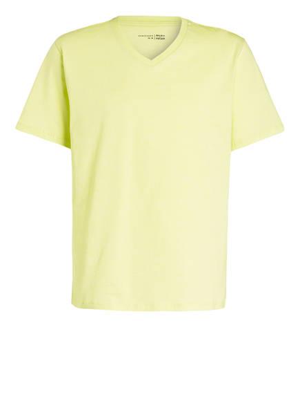 SCHIESSER Schlafshirt MIX & RELAX , Farbe: GELB MELIERT (Bild 1)