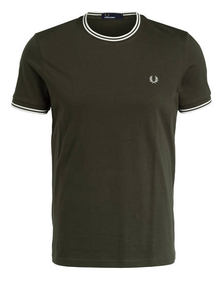 FRED PERRY T-Shirt, Farbe: OLIV (Bild 1)