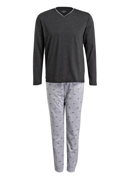 LACOSTE Schlafanzug, Farbe: DUNKELGRAU/ HELLGRAU (Bild 1)