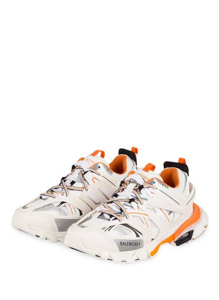 BALENCIAGA Sneaker TRACK, Farbe: WEISS/ ORANGE (Bild 1)