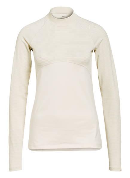 Nike Longsleeve PRO WARM, Farbe: CREME/ GOLD (Bild 1)