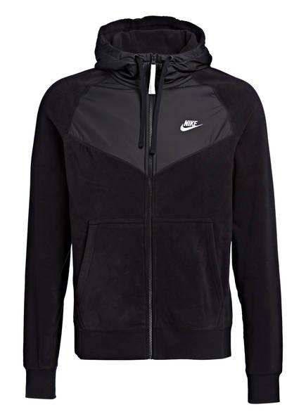 Nike Hybrid-Fleecejacke CORE, Farbe: SCHWARZ (Bild 1)