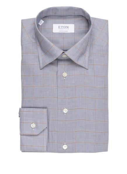 Contemporary Hemd Blau Eton Eton Eton Contemporary Blau Fit Fit Hemd npPxOq
