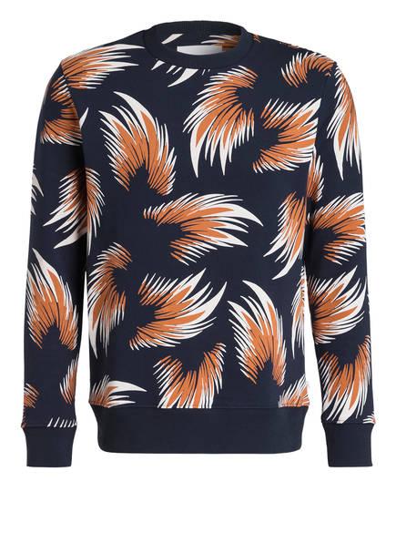 SAMSØE & SAMSØE Sweatshirt, Farbe: DUNKELBLAU/ ORANGE/ WEISS (Bild 1)