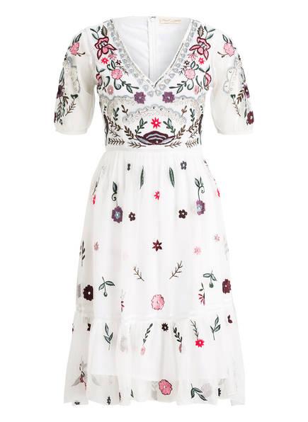 frock & frill Kleid mit Stickereien, Farbe: WEISS (Bild 1)