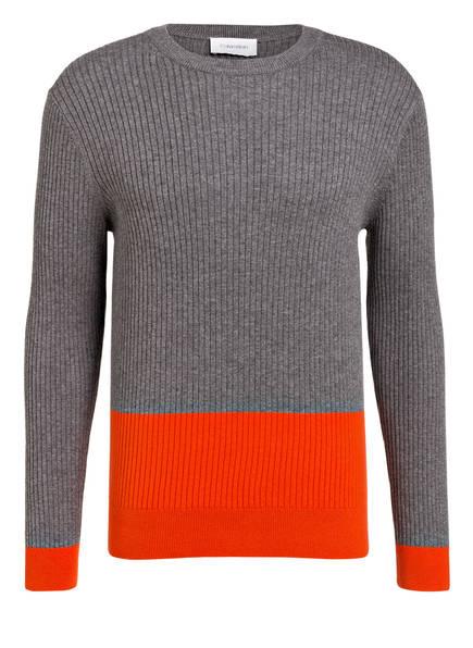 Calvin Klein Pullover, Farbe: GRAU/ ROT (Bild 1)