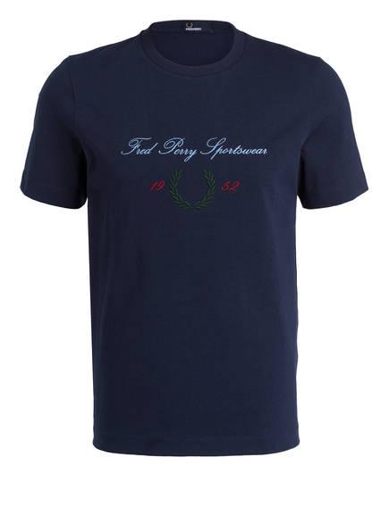 FRED PERRY T-Shirt, Farbe: BLAU (Bild 1)