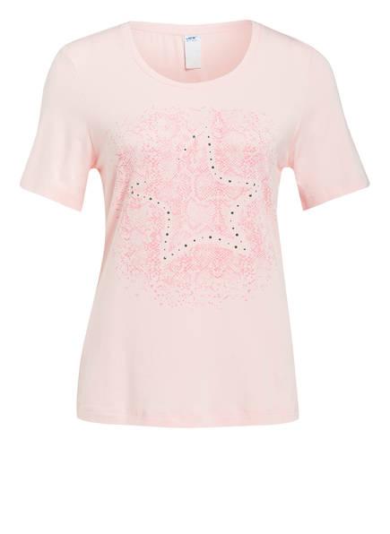 JOY sportswear T-Shirt ANNIKA mit Schmucksteinbesatz, Farbe: ROSE (Bild 1)
