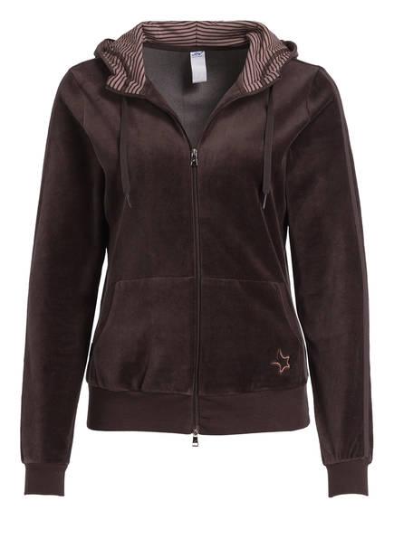 JOY sportswear Nicki-Jacke KIRA, Farbe: DUNKELBRAUN (Bild 1)