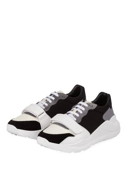 BURBERRY Sneaker REGIS, Farbe: SCHWARZ/ WEISS/ GRAU (Bild 1)