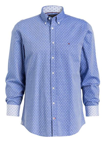 hemd regular fit von tommy hilfiger bei breuninger kaufen  tommy hilfiger hemd regular fit, farbe blau (bild 1)