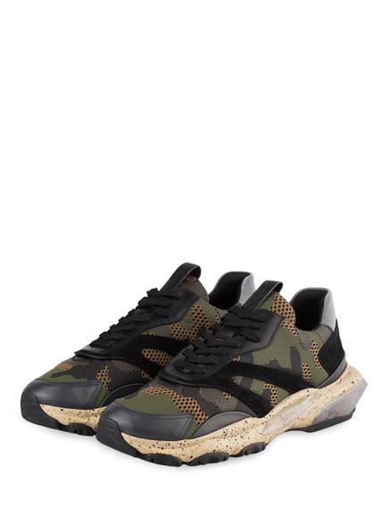 VALENTINO GARAVANI Sneaker BOUNCE, Farbe: KHAKI/ SCHWARZ (Bild 1)