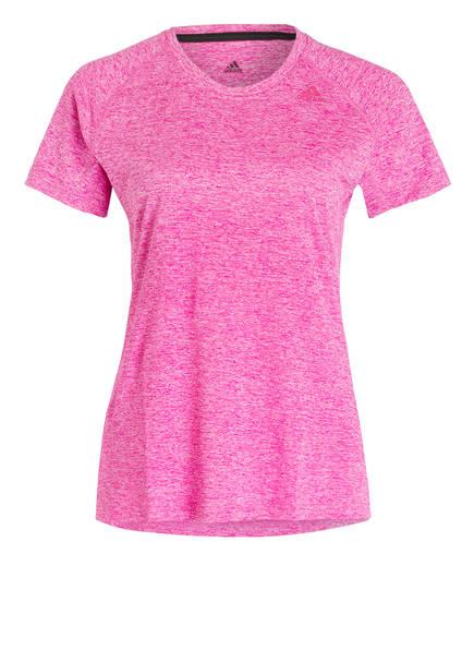 adidas T-Shirt TECH PRIME, Farbe: PINK MELIERT (Bild 1)