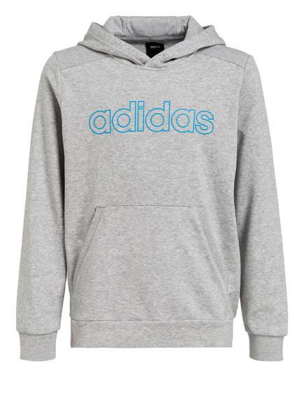 adidas Hoodie ESSENTIALS, Farbe: GRAU MELIERT (Bild 1)