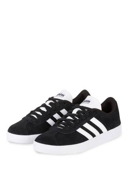 adidas Sneaker VL COURT 2.0, Farbe: SCHWARZ/ WEISS (Bild 1)