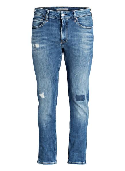 Calvin Klein Jeans Destroyed-Jeans Slim Fit , Farbe: 911 TUNISIA BLUE (Bild 1)