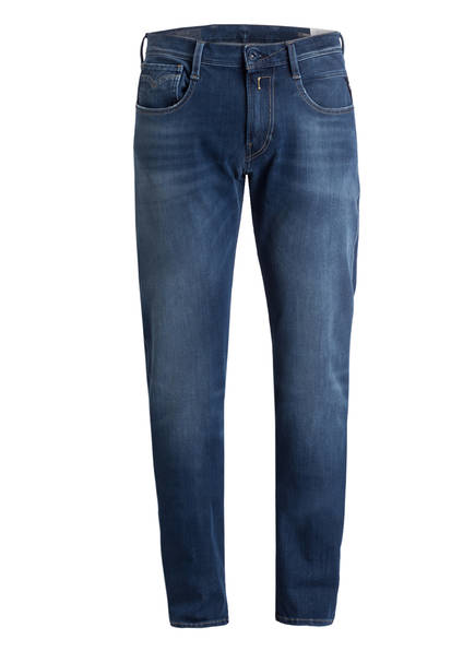 REPLAY Jeans ANBASS Slim Fit, Farbe: 009 MEDIUM BLUE (Bild 1)