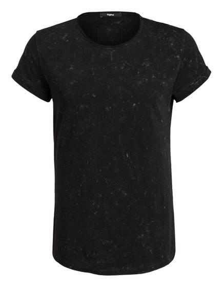 Tigha shirt Schwarz T Spray Milo azwgq0va