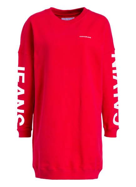 Calvin Klein Jeans Sweatkleid, Farbe: ROT (Bild 1)