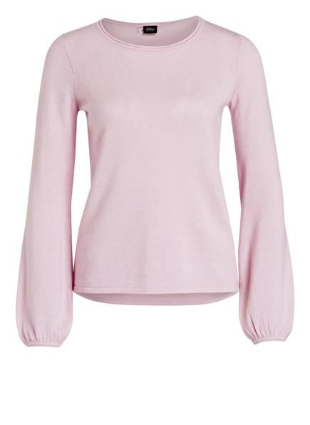 s.Oliver BLACK LABEL Cashmere-Pullover, Farbe: ROSA (Bild 1)