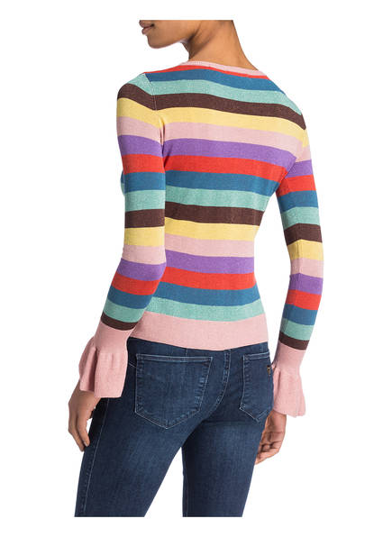 Blau Guess Pullover Guess Guess Rosa Pullover Blau Rosa Khaki Blau Pullover Khaki qXw14xz