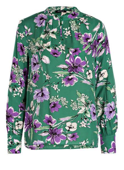 MORE & MORE Bluse, Farbe: GRÜN/ LILA/ WEISS (Bild 1)