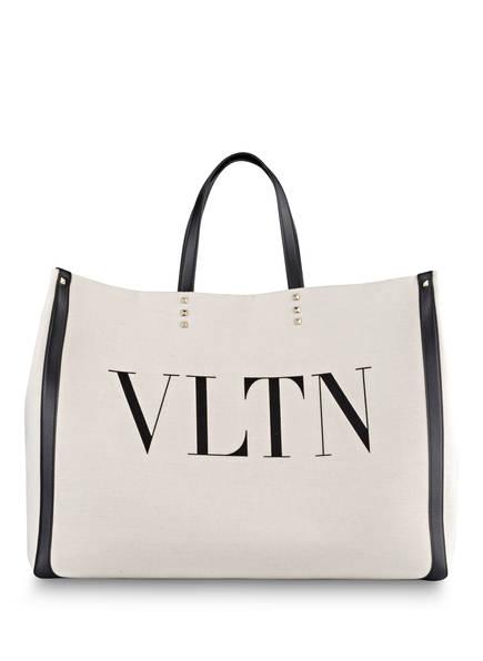 VALENTINO GARAVANI Shopper VLTN, Farbe: CREME/ SCHWARZ (Bild 1)