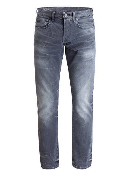 G-Star RAW Jeans 3301 Straight Tapered Fit, Farbe: 424 AGED GREY (Bild 1)