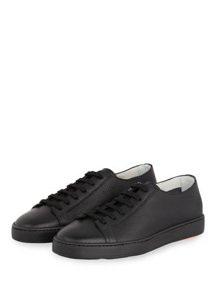 Santoni Sneaker CLEAN ICON, Farbe: SCHWARZ (Bild 1)