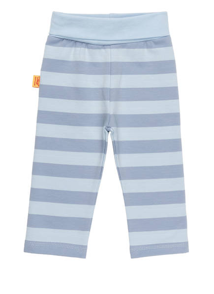 Steiff Sweatpants, Farbe: HELLBLAU/ BLAU GESTREIFT (Bild 1)