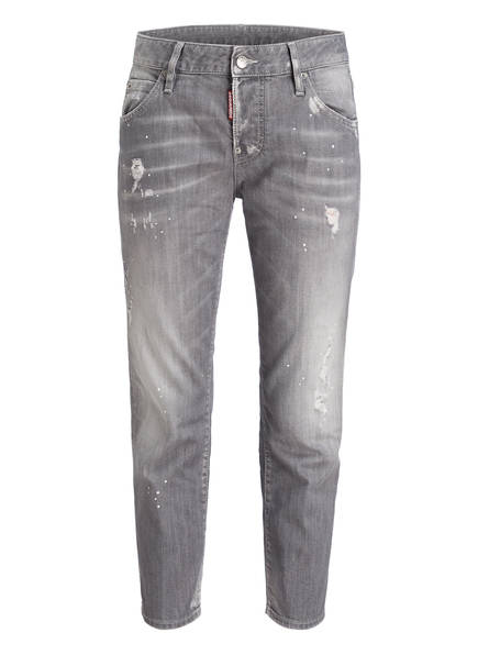 DSQUARED2 7/8-Jeans COOL GIRL, Farbe: LIGHT GREY (Bild 1)