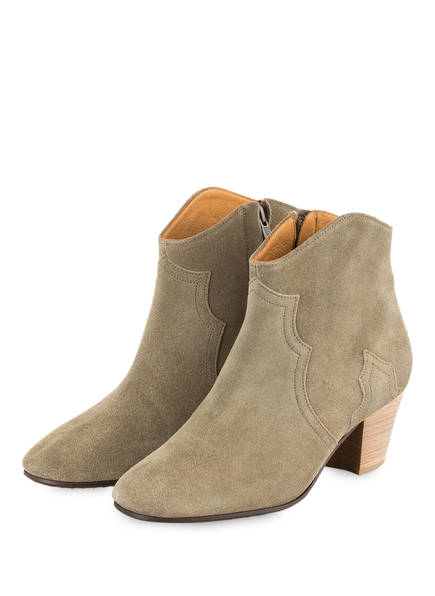 ISABEL MARANT Cowboy Boots DICKER, Farbe: TAUPE (Bild 1)